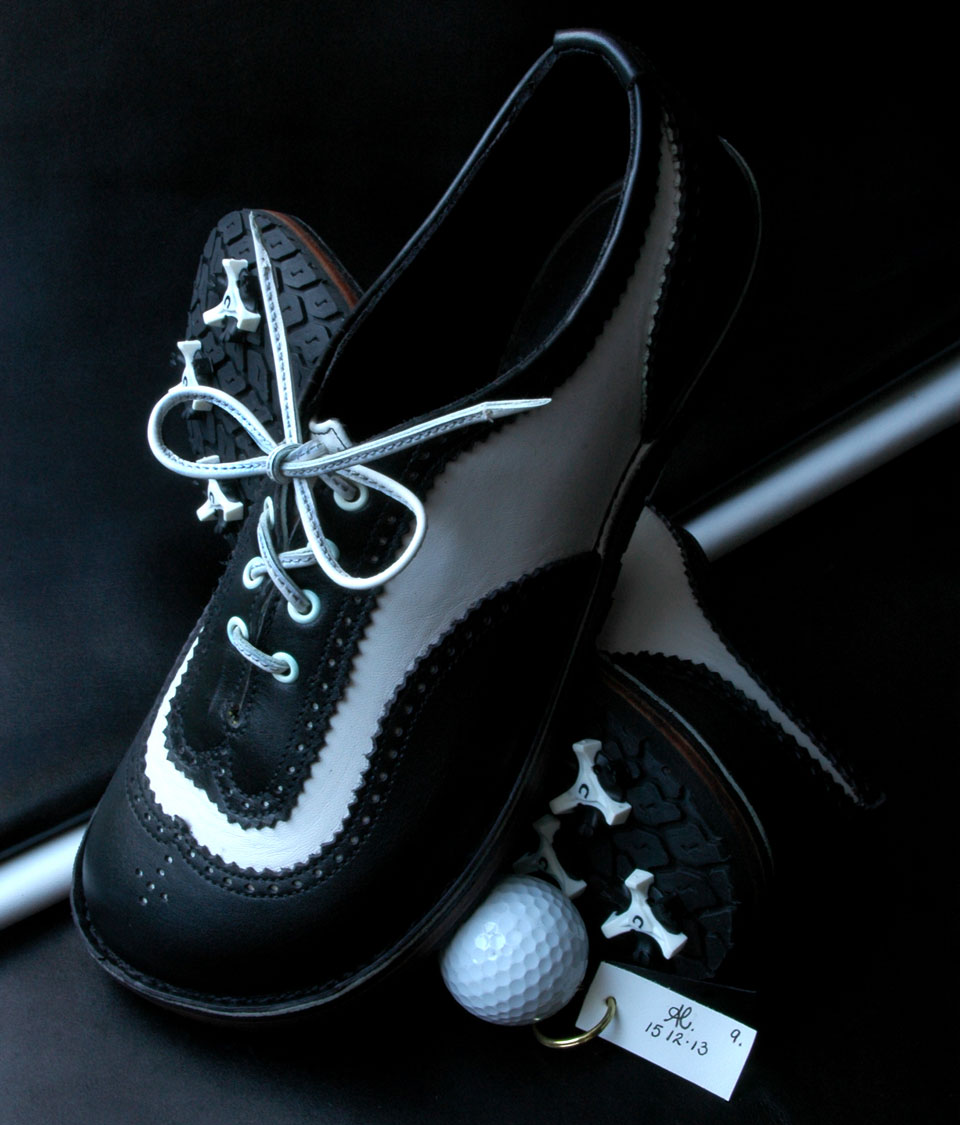 handmade / custom golf shoes wales, uk